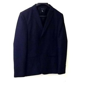 21 men midnight blue blazer